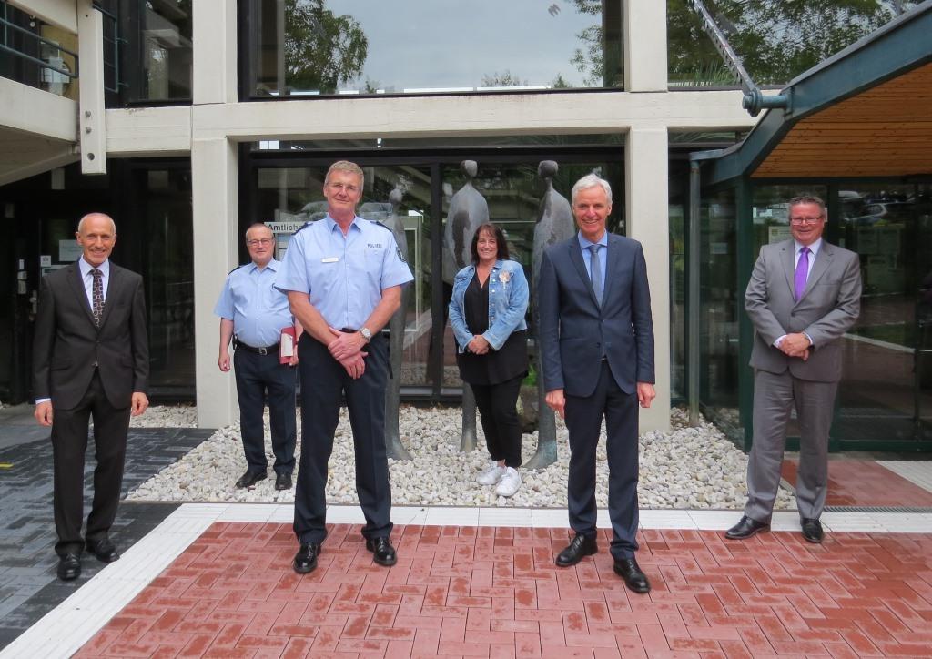 Besuch des Polizeipräsidenten Frank Hoever