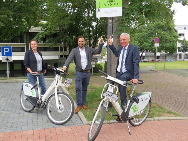 Neue virtuelle Sation RVK e-Bike am Rathaus